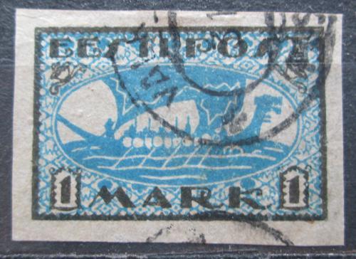 Poštovní známka Estonsko 1920 Vikingská loï Mi# 12 y