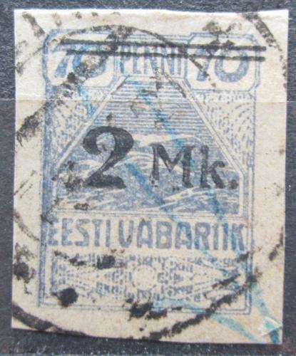 Poštovní známka Estonsko 1920 Racek pøetisk Mi# 20