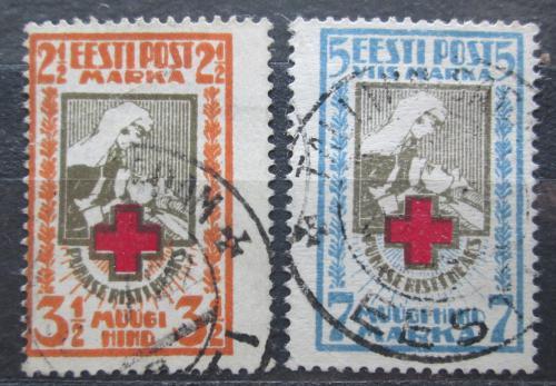 Poštovní známky Estonsko 1921 Èervený køíž Mi# 29-30 A Kat 20€