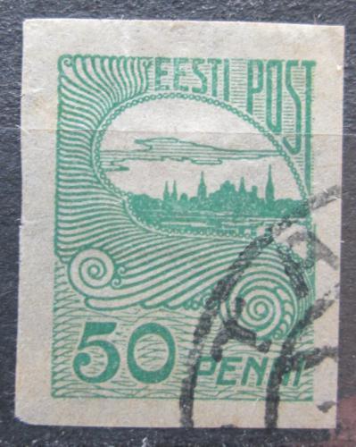 Poštovní známka Estonsko 1921 Tallinn Mi# 31