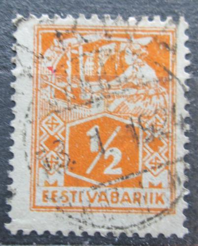 Poštovní známka Estonsko 1922 Tkadlena Mi# 32 A