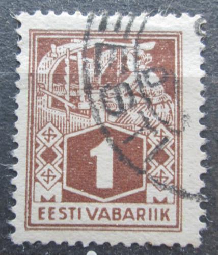 Poštovní známka Estonsko 1922 Tkadlena Mi# 33 A