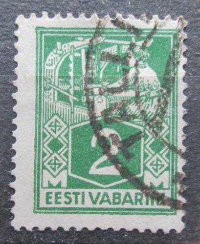 Poštovní známka Estonsko 1922 Tkadlena Mi# 34 A