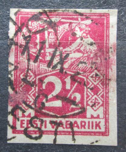 Poštovní známka Estonsko 1922 Tkadlena neperf. Mi# 35 B Kat 10€