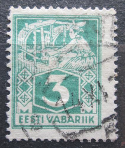 Poštovní známka Estonsko 1924 Tkadlena Mi# 36 A