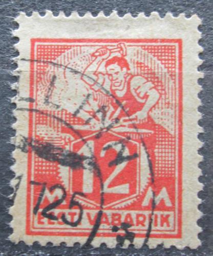 Poštovní známka Estonsko 1925 Kováø Mi# 57