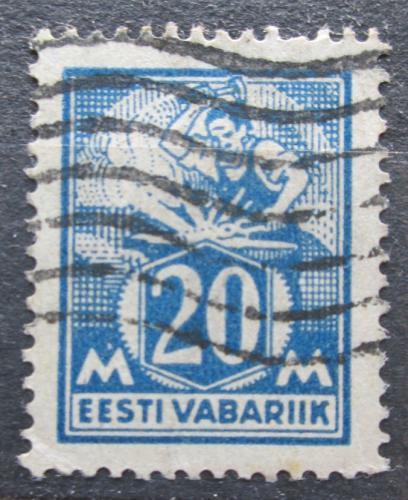 Poštovní známka Estonsko 1925 Kováø Mi# 59
