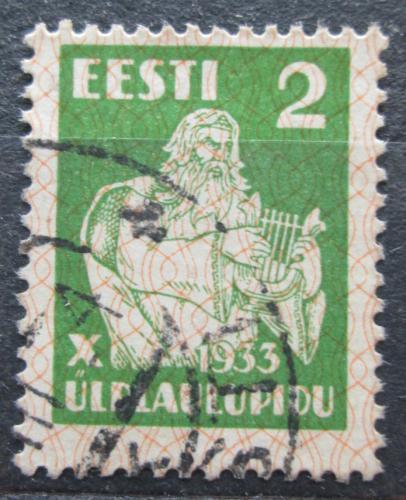 Poštovní známka Estonsko 1933 Bùh Vanemuine Mi# 99