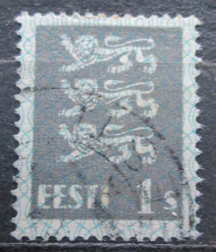 Poštovní známka Estonsko 1928 Státní znak Mi# 74