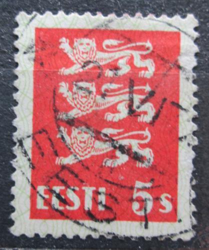 Poštovní známka Estonsko 1928 Státní znak Mi# 77