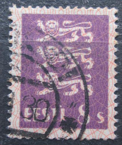 Poštovní známka Estonsko 1929 Státní znak Mi# 78