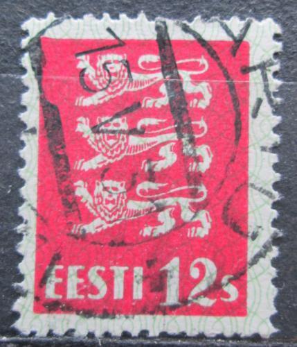 Poštovní známka Estonsko 1928 Státní znak Mi# 80