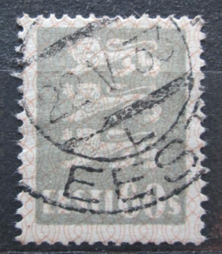 Poštovní známka Estonsko 1929 Státní znak Mi# 85