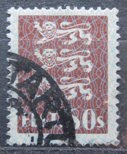 Poštovní známka Estonsko 1929 Státní znak Mi# 86