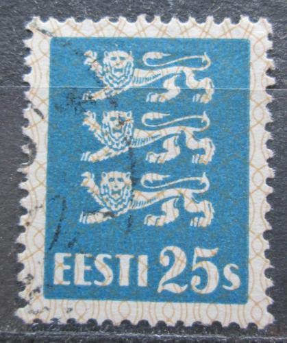 Poštovní známka Estonsko 1935 Státní znak Mi# 107
