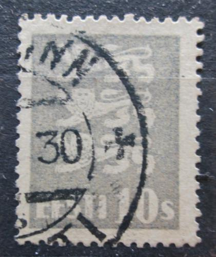 Poštovní známka Estonsko 1928 Státní znak Mi# 79 a