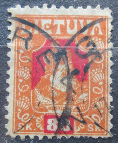 Poštovní známka Litva 1921 Kníže Kestutis Mi# 94 A