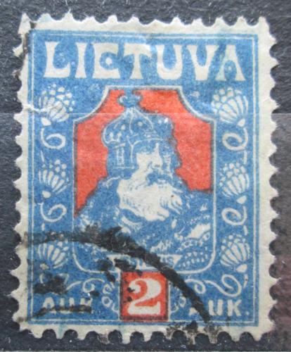 Poštovní známka Litva 1921 Kníže Kestutis Mi# 96
