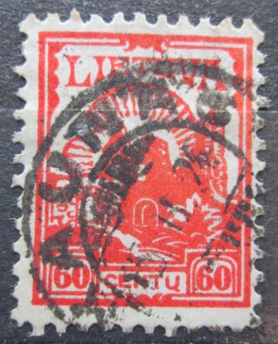 Poštovní známka Litva 1923 Ruiny hradu Kaunas Mi# 192