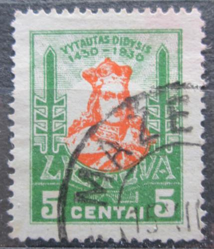 Poštovní známka Litva 1930 Kníže Vytautas Mi# 295