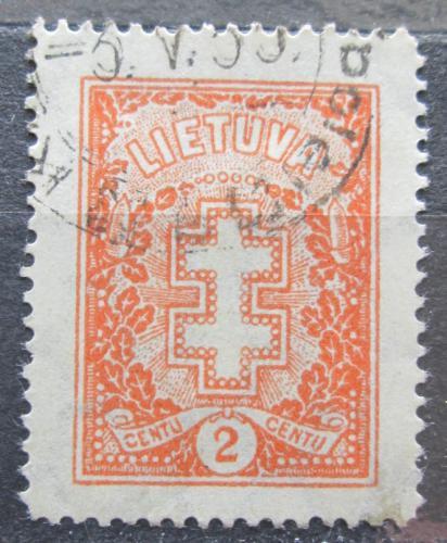 Poštovní známka Litva 1933 Dvojtý køíž Mi# 380 Kat 8€