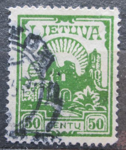 Poštovní známka Litva 1933 Ruiny hradu Kaunas Mi# 383 Kat 12€