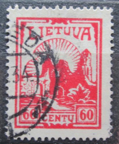 Poštovní známka Litva 1933 Ruiny hradu Kaunas Mi# 384 Kat 12€