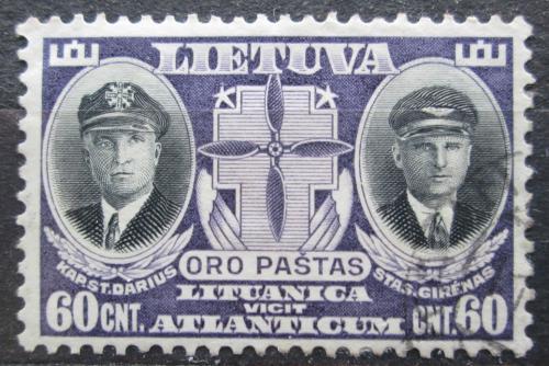 Poštovní známka Litva 1934 Osobnosti Mi# 387