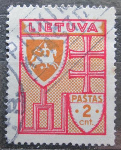 Poštovní známka Litva 1934 Státní znak Mi# 394