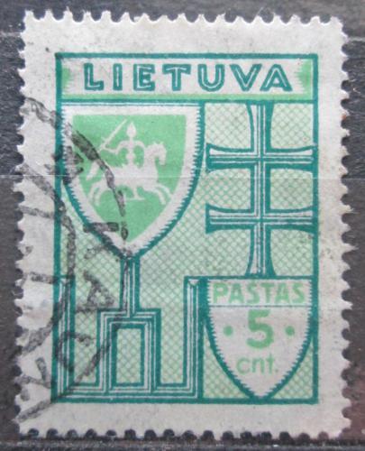 Poštovní známka Litva 1935 Státní znak Mi# 395