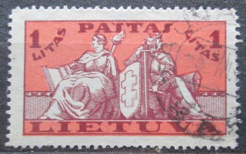 Poštovní známka Litva 1934 Státní symboly Mi# 400