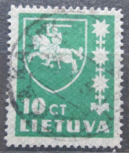 Poštovní známka Litva 1937 Státní znak Mi# 413
