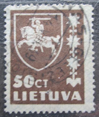 Poštovní známka Litva 1937 Státní znak Mi# 416 I