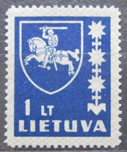 Poštovní známka Litva 1939 Státní znak Mi# 432