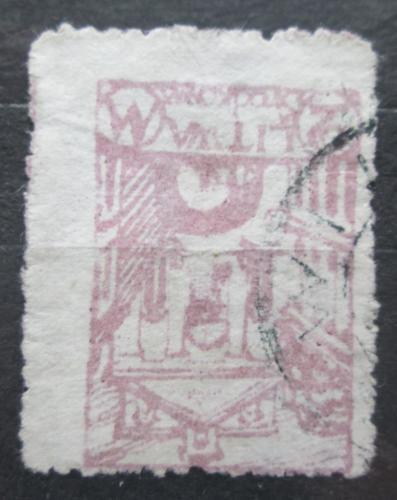 Poštovní známka Støední Litva 1920 Kaple ve Vilniusu Mi# 16 A
