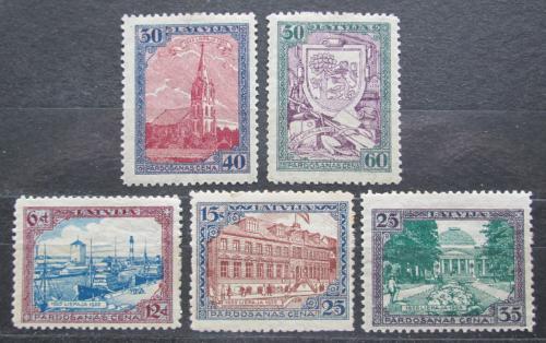 Poštovní známky Lotyšsko 1925 Liepāja, 300. výroèí TOP SET Mi# 107-11 A Kat 35€