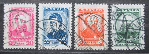 Poštovní známky Lotyšsko 1936 Spisovatelé TOP SET Mi# 238-41 Kat 26€