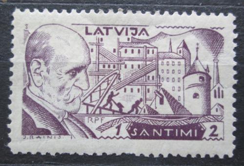 Poštovní známka Lotyšsko 1930 Janis Rainis, básník a politik Mi# 153