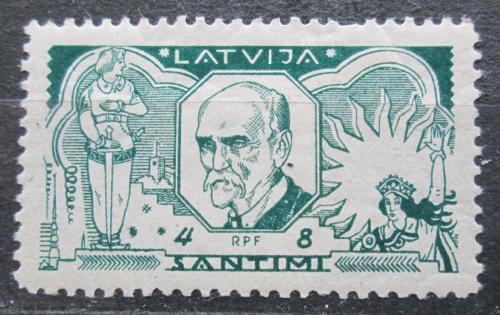Poštovní známka Lotyšsko 1930 Janis Rainis, básník a politik Mi# 155