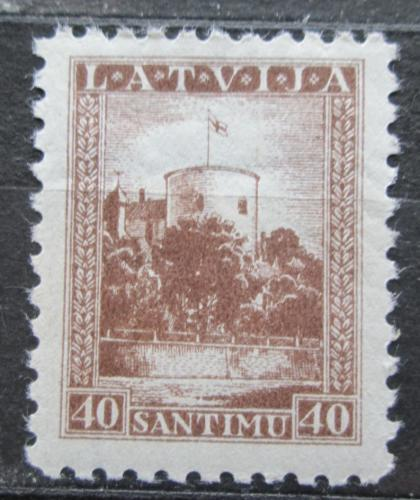 Poštovní známka Lotyšsko 1934 Sídlo prezidenta v Rize Mi# 237