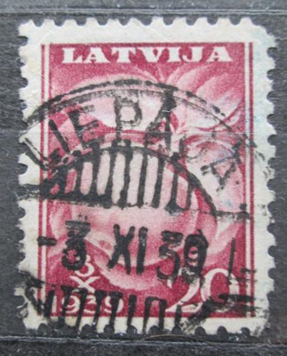 Poštovní známka Lotyšsko 1939 Jablko Mi# 280