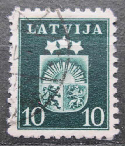 Poštovní známka Lotyšsko 1940 Státní znak Mi# 286