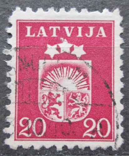 Poštovní známka Lotyšsko 1940 Státní znak Mi# 287