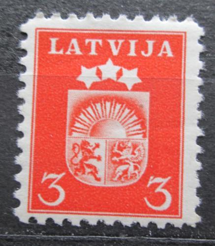 Poštovní známka Lotyšsko 1940 Státní znak Mi# 283