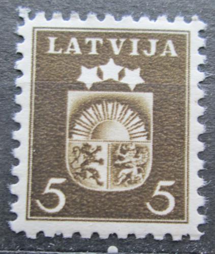 Poštovní známka Lotyšsko 1940 Státní znak Mi# 284