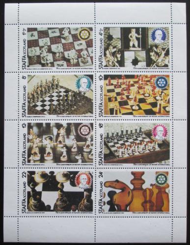 Poštovní známky Staffa, Skotsko 1980 Šachy Mi# N/N
