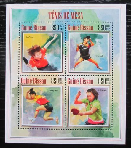 Poštovní známky Guinea-Bissau 2013 Stolní tenis Mi# 7026-29 Kat 14€
