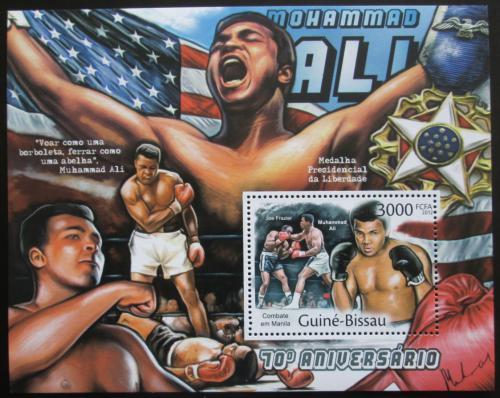 Poštovní známka Guinea-Bissau 2012 Muhammad Ali, box Mi# Block 1031 Kat 12€
