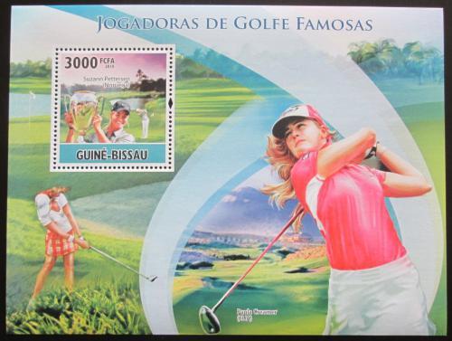 Poštovní známka Guinea-Bissau 2010 Slavné golfistky Mi# Block 878 Kat 12€