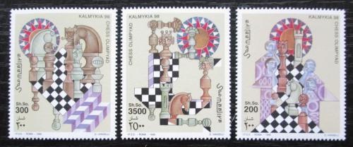 Poštovní známky Somálsko 1998 Šachy TOP SET Mi# 710-12 Kat 17€